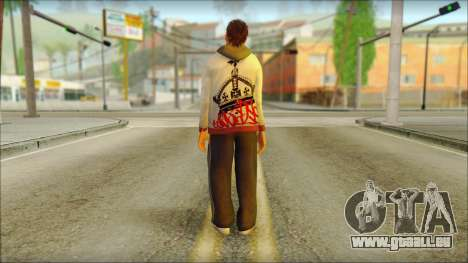 GTA 5 Ped 6 pour GTA San Andreas deuxième écran