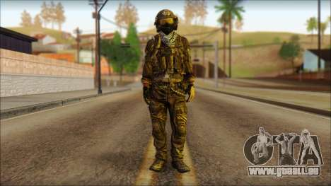 Combattant OGA (MoHW) v1 pour GTA San Andreas