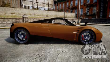 Pagani Huayra 2013 für GTA 4 linke Ansicht