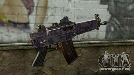Graffiti MP5 für GTA San Andreas zweiten Screenshot