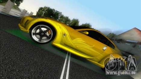 Nissan 350Z Veiside Chipatsu für GTA Vice City rechten Ansicht