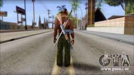 MR T Skin v9 für GTA San Andreas zweiten Screenshot