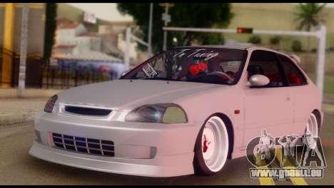 Honda Civic 1.4 Hatchback für GTA San Andreas