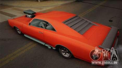 GTA 4 Dukes Tunable für GTA San Andreas Rückansicht