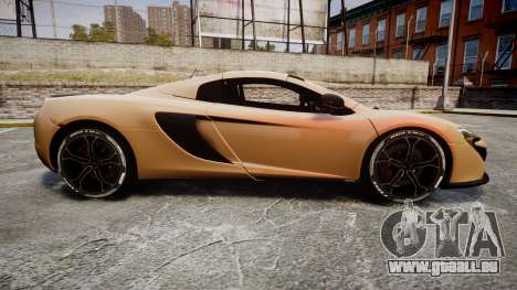 McLaren 650S Spider 2014 [EPM] Pirelli v2 pour GTA 4 est une gauche