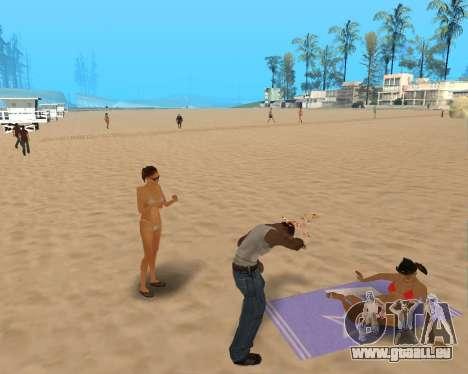 Pour airborne! pour GTA San Andreas troisième écran