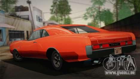 GTA 4 Dukes Tunable für GTA San Andreas linke Ansicht