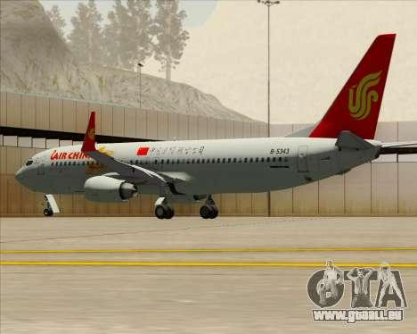 Boeing 737-89L Air China pour GTA San Andreas moteur