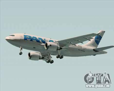 Airbus A310-324 Pan American World Airways pour GTA San Andreas moteur