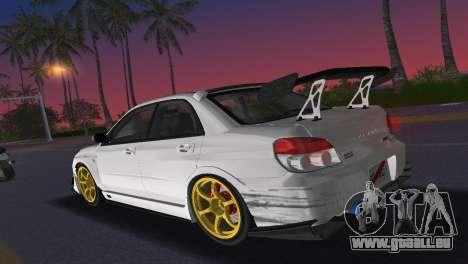 Subaru Impreza WRX STI 2006 Type 2 für GTA Vice City Innenansicht