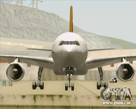 Airbus A330-300P2F UPS Airlines für GTA San Andreas obere Ansicht