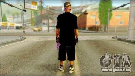 East Side Ballas Skin 2 pour GTA San Andreas deuxième écran