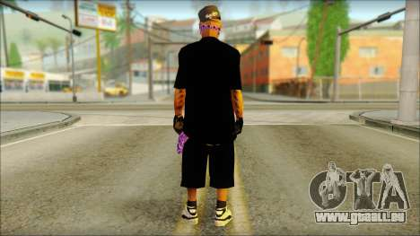 East Side Ballas Skin 2 für GTA San Andreas zweiten Screenshot