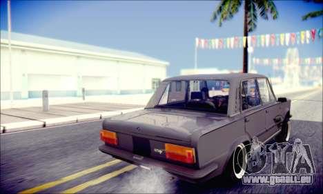 Fiat 125P Shark für GTA San Andreas Innenansicht