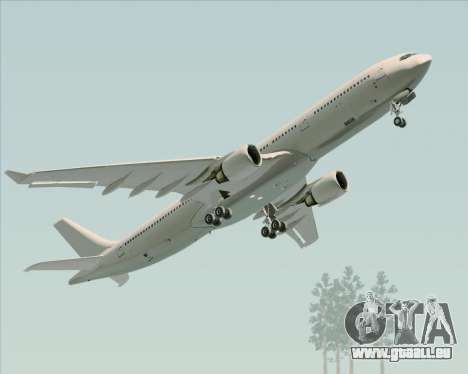 Airbus A330-300 Full White Livery pour GTA San Andreas vue intérieure