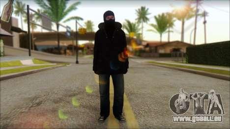 Vandal Euromaidan Style für GTA San Andreas