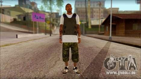 New Grove Street Family Skin v5 für GTA San Andreas