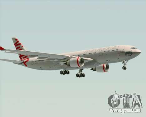 Airbus A330-200 Virgin Australia pour GTA San Andreas vue de dessous
