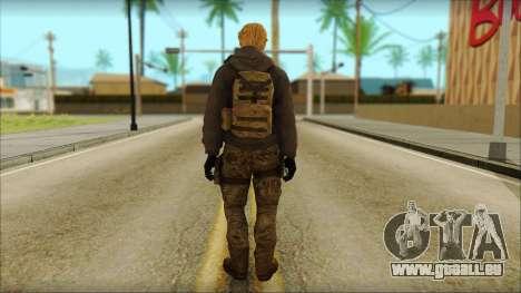 Alfred F. Jones pour GTA San Andreas deuxième écran