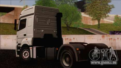 Le KamAZ-5490 pour GTA San Andreas laissé vue