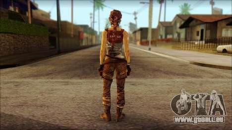 Tomb Raider Skin 7 2013 für GTA San Andreas zweiten Screenshot