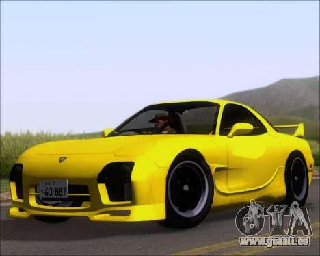 Mazda RX-7 FD3S A-Spec pour GTA San Andreas laissé vue