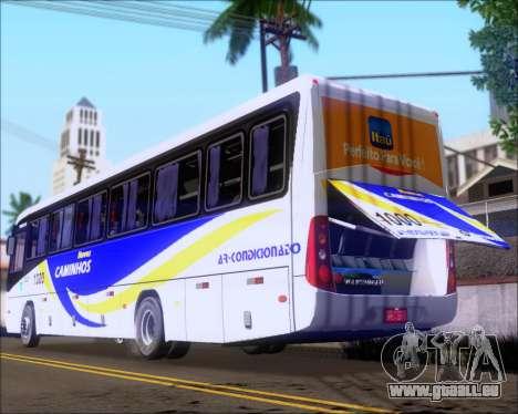 Marcopolo Ideale 770 - Volksbus 17-230 EOD pour GTA San Andreas vue de côté