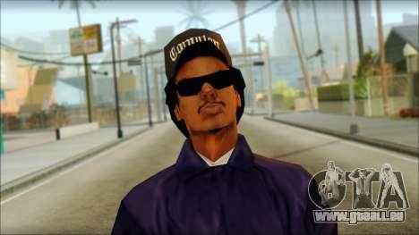 Eazy-E Blue v2 pour GTA San Andreas troisième écran