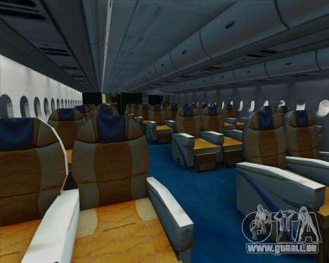 Airbus A380-861 für GTA San Andreas Innen