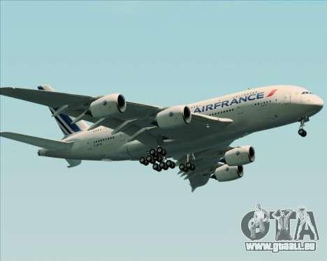Airbus A380-861 Air France für GTA San Andreas Seitenansicht