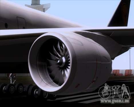 Boeing 747-830 Lufthansa - Fanhansa für GTA San Andreas Unteransicht