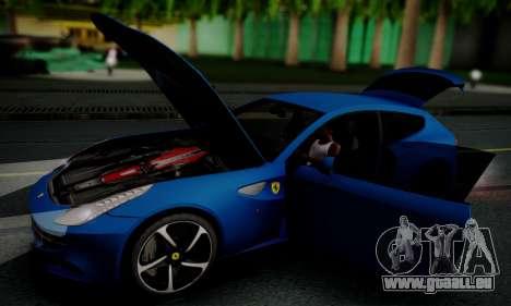 Ferrari FF 2012 für GTA San Andreas Seitenansicht