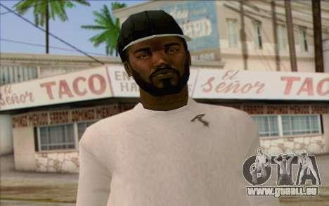 N.W.A Skin 1 pour GTA San Andreas troisième écran