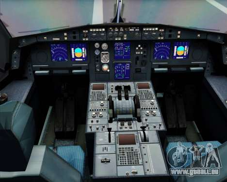Airbus A330-300 Delta Airlines für GTA San Andreas Seitenansicht