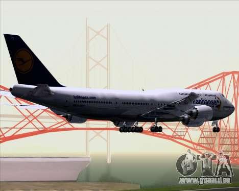 Boeing 747-830 Lufthansa - Fanhansa pour GTA San Andreas vue arrière
