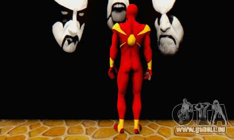 Skin The Amazing Spider Man 2 - DLC Iron Spider für GTA San Andreas dritten Screenshot