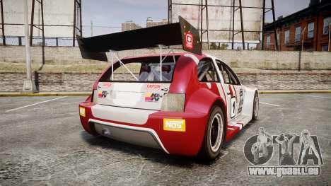 Zenden Cup Dalilfodda pour GTA 4 Vue arrière de la gauche