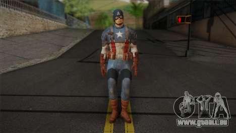 Captain America v1 pour GTA San Andreas