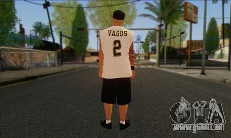 Vagos from GTA 5 Skin 1 pour GTA San Andreas deuxième écran