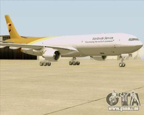 Airbus A330-300P2F UPS Airlines pour GTA San Andreas laissé vue