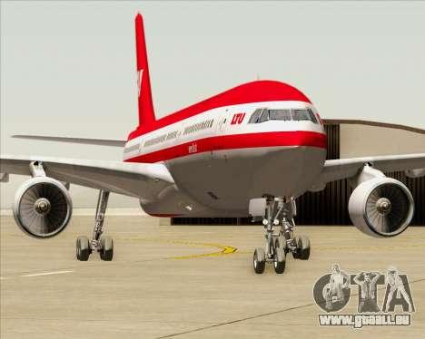 Airbus A330-300 LTU International für GTA San Andreas Unteransicht