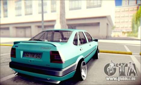 Fiat Tempra TR für GTA San Andreas zurück linke Ansicht