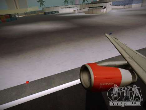 Airbus A319-132 Scandinavian Airlines pour GTA San Andreas