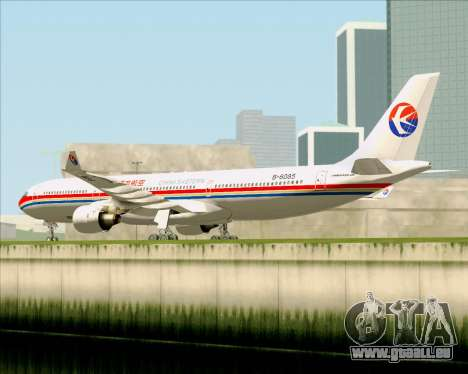 Airbus A330-300 China Eastern Airlines pour GTA San Andreas vue arrière
