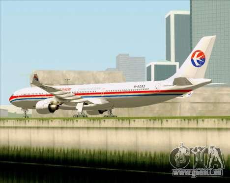Airbus A330-300 China Eastern Airlines für GTA San Andreas Rückansicht