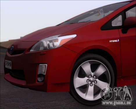 Toyota Prius pour GTA San Andreas vue de dessous