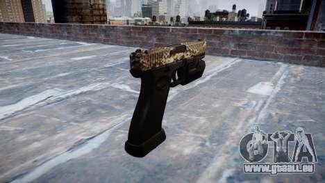Pistole Glock 20 viper für GTA 4 Sekunden Bildschirm