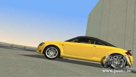 Audi TT Coupe BiMotor Black Revel pour GTA Vice City