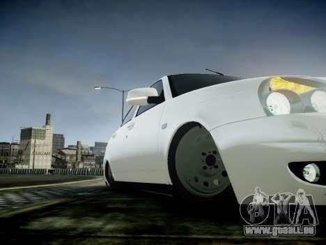 VAZ 2172 für GTA 4 Innenansicht