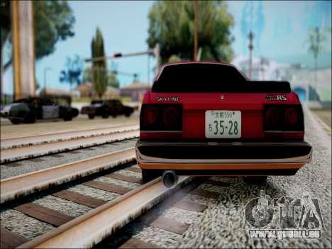 Nissan Skyline GT-R R30 für GTA San Andreas rechten Ansicht